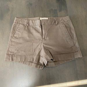 Brown banana republic shorts